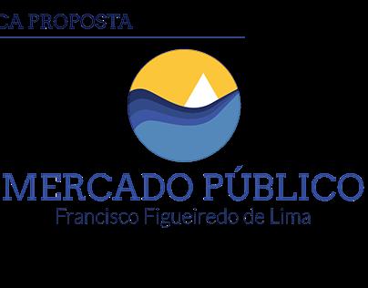 Proposta de sinalização do Mercado Público de Cabedelo