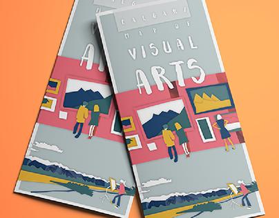Calgary Map of Visual Arts