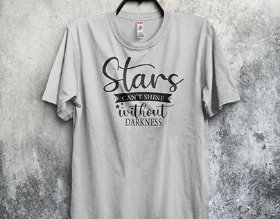T-Shirt Design ( inspirational quotes )