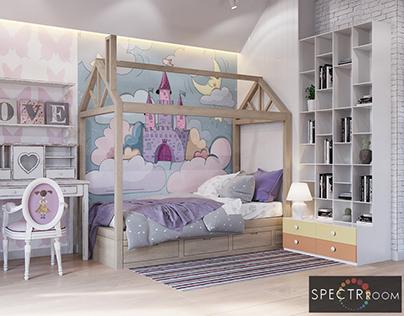 Design of a children's room_Lviv