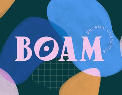 BOAM - Brand identity