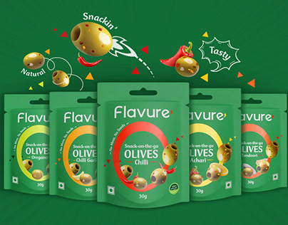 Brand and Packaging Design for Snacking Olives