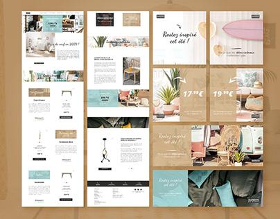 Maisons du Monde - UI Design