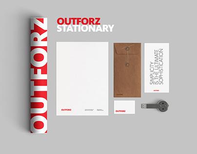 OUTFORZ identity branding