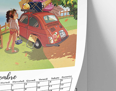 Calendario 2021 Tomato Comics (ITA)