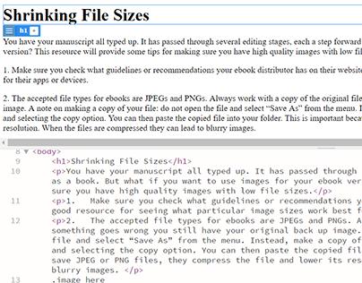 Shrinking File Sizes