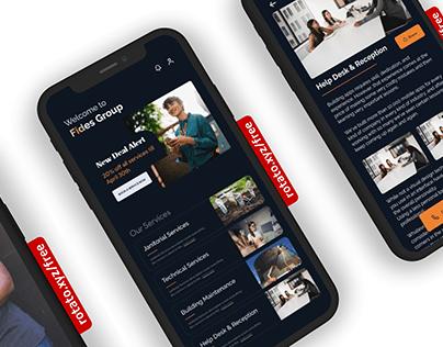 Service App Concept