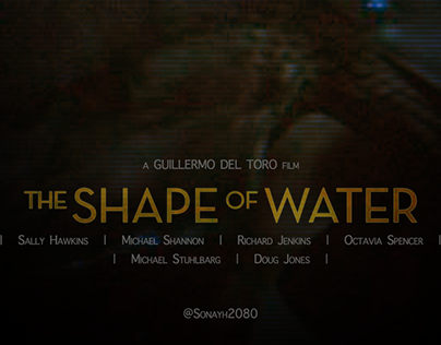The Shape of water : Movie poster re:design