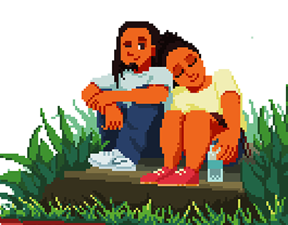 Pixel Art - Valentine's Day