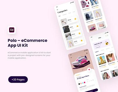 Polo – eCommerce App UI Kit