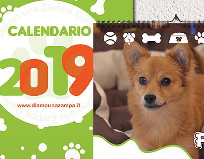 Calendario da parete per ADV - DIAMO UNA ZAMPA