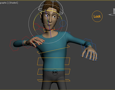 3D Character Rigging - Thalles Body