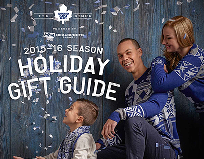 RSA Leafs & Raptors 2015-16 Holiday Lookbooks