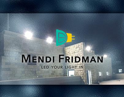 """""""Mendi Fridman"""" LOGO & Business Cards"""