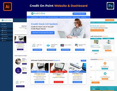 Website & Dashboard Credit On Point