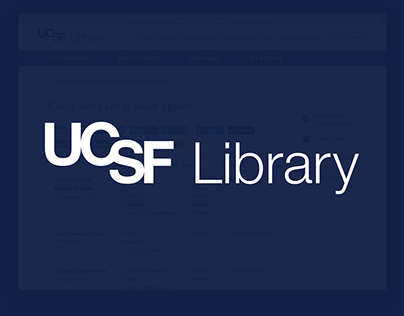 UCSF Library: Making it Easy to Find the Right Space