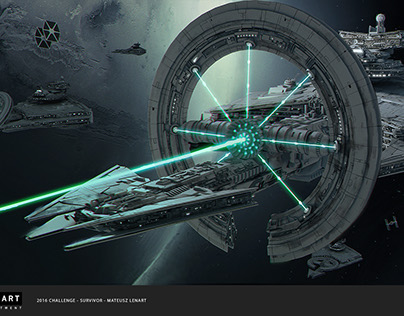 ILM STAR WARS CHALLENGE The RIDE no.2