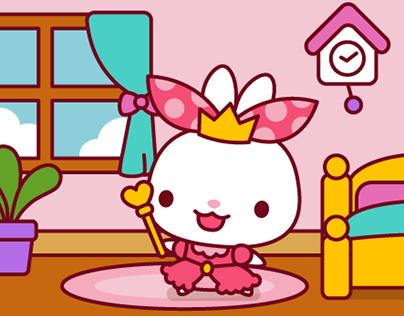 Bella Bunny Sticker Pack