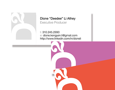 Business Card / for Dione Li