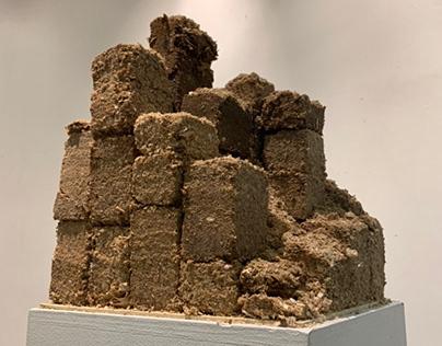 Sawdust sculpture