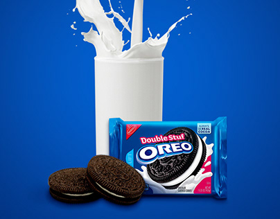 Oreo biscuit advertising POSM