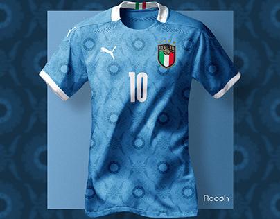 Italy x Puma EURO 2020 Soccer Kit Concept / Renaissance