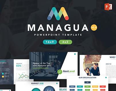 Managua - Business Powerpoint Template