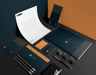 Brand stationery - Miller Matine