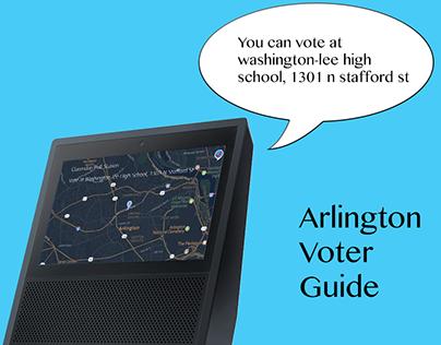 Arlington Voter Guide on Alexa