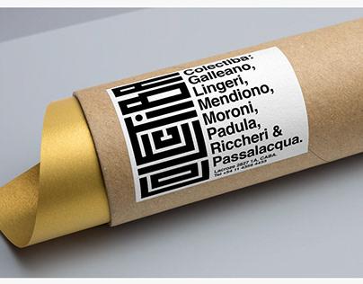 Colectiba - Brand identity