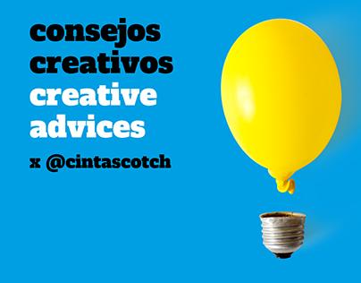 Creative Advices x cintascotch
