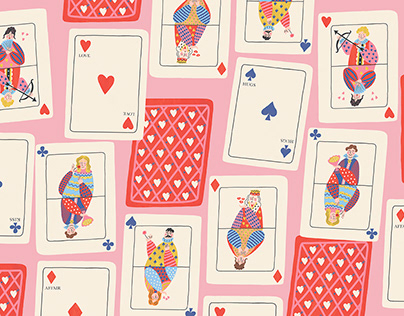 ST VALENTINWRAPPING PAPER AND GREETING CARDS