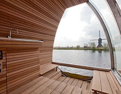 Free Floating Eco Lodge