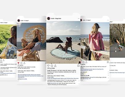 FUTAH BEACH TOWELS || Social Media Management