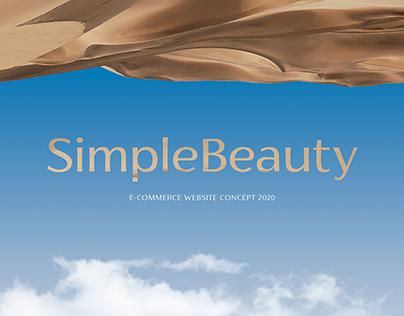 E-commerce SimpleBeauty online shop