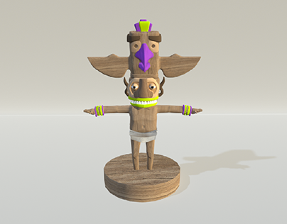 3D Character Totem