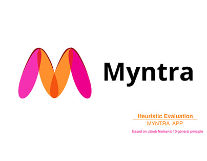 Heuristic Evaluation Myntra