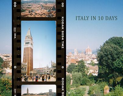 Italy in 10 days [on film]