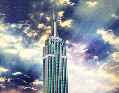 Design Graphic : Empire State Building