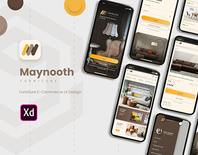 Maynooth Furniture UI Design