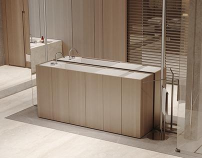 AWD21F-Master bathroom