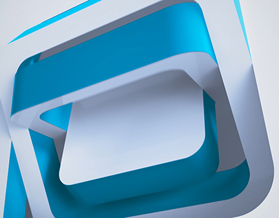 flipping logo reveal