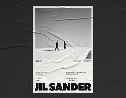 JIL SANDER — website concept