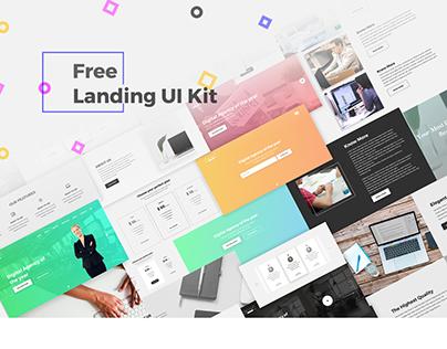 Free Landing UI Kit