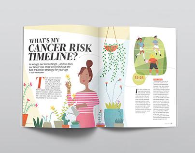 Vim & Vigor Magazine: Cancer