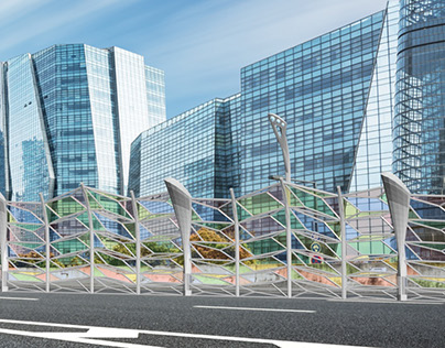 The project of multifunctional barriers