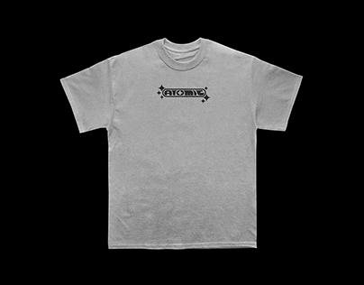 Atomic T-shirt retro Mockup