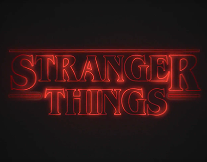 STRANGER THINGS REMAKE // Motion Graphics