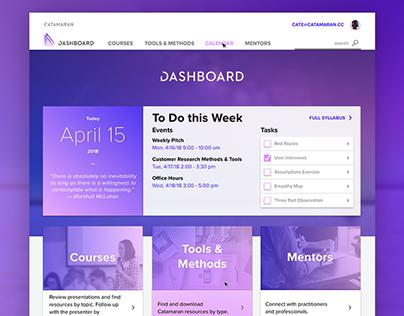 Startup Accelerator Dashboard