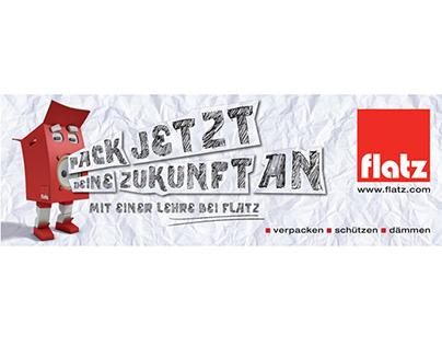 Flatz Verpackungen - Lehrlingskampagne